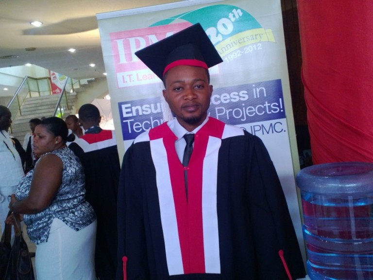 Isaac Wobil's Graduation Day